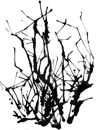 Aquarelle de fond abstrait