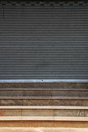 shutter steel door Stock Photo - 12969063