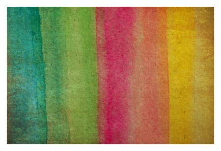 books on a wooden surface: color water on old paper