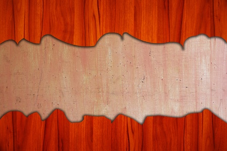 wooden plaque: wooden board background Stock Photo