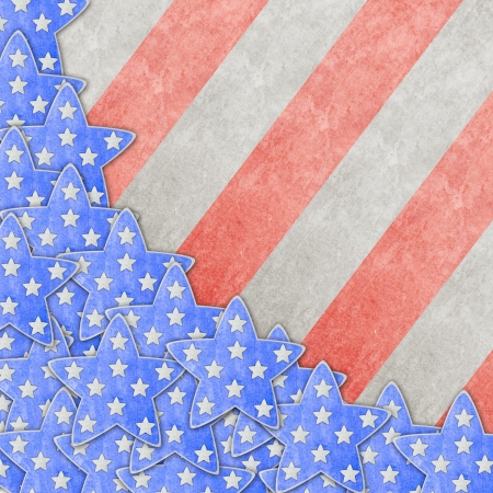 president of the usa: 4th July background Stock Photo