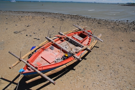 Small fishing boats photo
