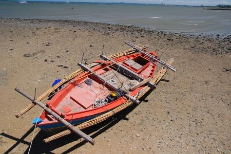 Small fishing boats photo