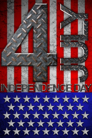 The fourth of july independence day Stock Photo - 14236904