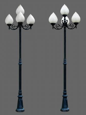 Lamp Post Street Road Light Pole isolated Stock Photo - 14567425