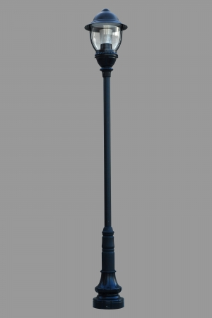 Lamp Post Street Road Light Pole isolated photo