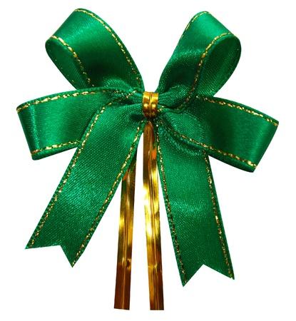 Gift bow  Ribbon  Isolated on white Stock Photo - 15185784