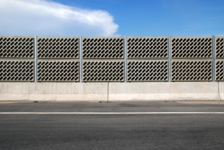 Wall crash barrier Stock Photo - 15185371