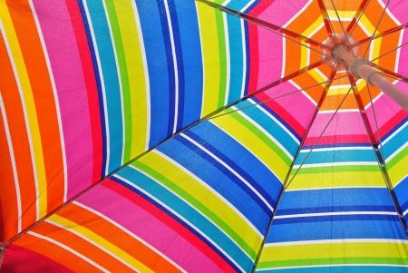 ombrellone spiaggia: Ombrellone in un giorno d'estate