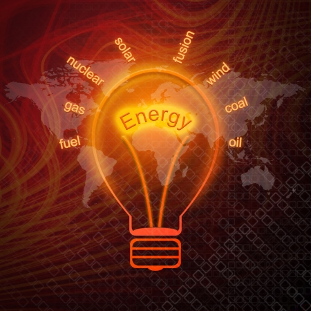 energy management: Energy sources in bulbs