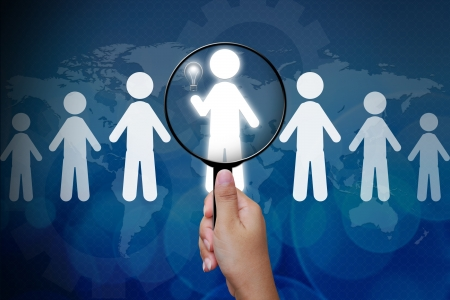 headhunting: Choosing the right person from a group