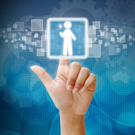 Le choix de l'employé bonne personne pour entreprise Banque d'images - 15052630