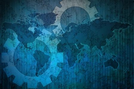 Interface de fond de l'écran tactile Banque d'images