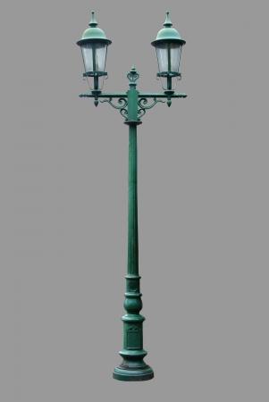 lamp on the pole: Lamp Post Street Road Light Pole isolated