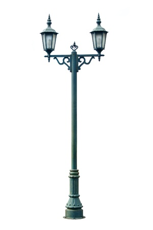lampposts: Lamp Post Lamppost Street Road Light Pole isolated
