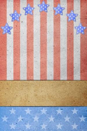 u s a: U S A  Flag for July 4th, Labor Day Stock Photo