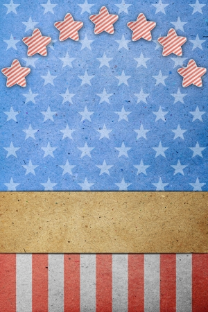 U S A  Flag for July 4th, Labor Day Stock Photo