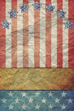 U.S.A. Flag for July 4th, Labor Day photo