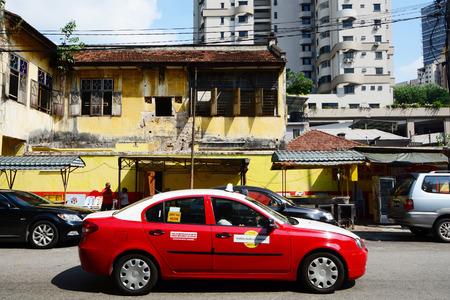 bukit: Taxi in Kuala Lumpur, Malaysia