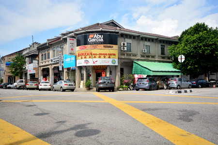 old street: Georgetown, Penang, Malaysia