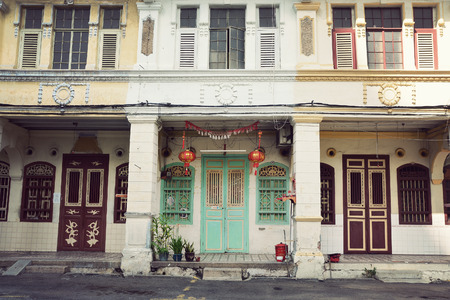 georgetown: Colonial Houses, Georgetown, Penang, Malaysia