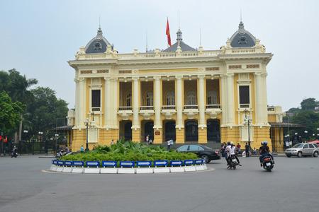 dominacion: Hanoi, Vietnam - Octubre 25,2015: la �pera de Hanoi
