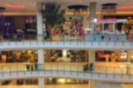 departmentstore: Blurred of Shopping Mall