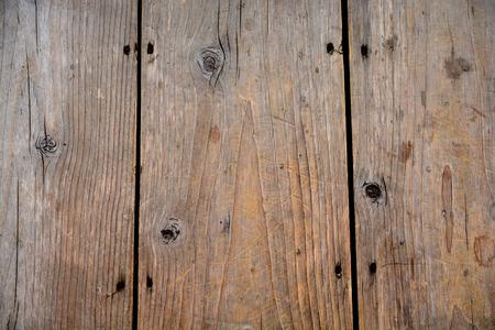 Vieux fond en bois. Table ou au sol en bois.