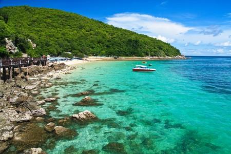 lan: Lan Island. Thailand. Stock Photo