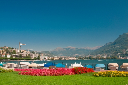 Lake of Lugano photo