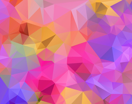 polygonal: polygonal pattern Illustration