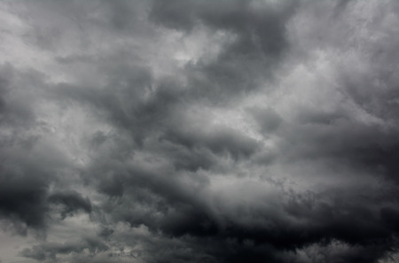 cloudscape: dark dramatic storm cloudscape