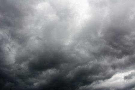 cloudscape: dark dramatic storm cloudscape