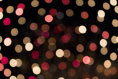 night out: blurred fireworks abstract christmas background