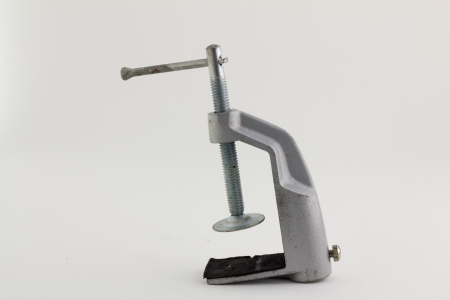 vise grip: clamp, on a white background with Clipping Part
