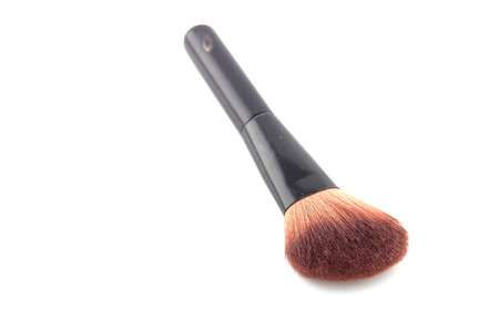 Cosmetic brush isolated on white background  photo