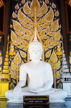 white buddha statue  Stock Photo - 17433425