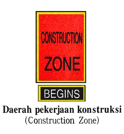 dissuade: Construction-Zone-recycled-made-from-paper