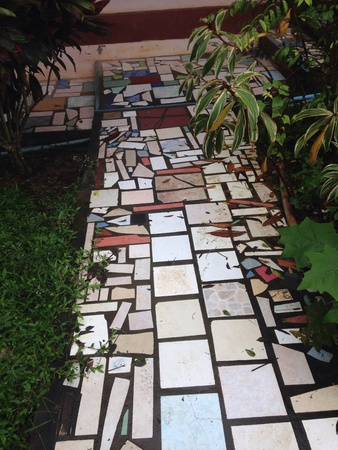 tile: Walkway made from tile