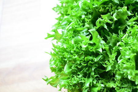Hydroponics vegetables is popular for health.