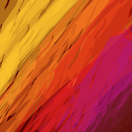 Fire bright abstract background illustration Çizim