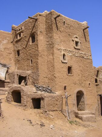 Traditional ancient Mongolian architecture Banco de Imagens