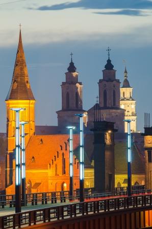 Churches in Kaunas, Lithuania  Vytautas the Great  Aleksotas  Bridge