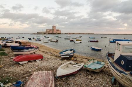 trapani: Trapani, Sicily Island, Italy Editorial