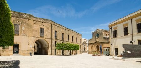 Old Town of Castelvetrano, Sicily Island, Italy