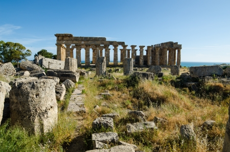 Selinunte, Sicily, Island, Italy