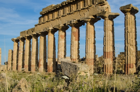 Acropolis at Selinunte, Sicily, Italy