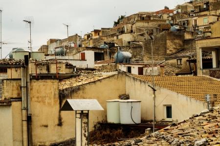 Mountain town - Caltabellotta  Sicily, Italy   Stock Photo - 21718001
