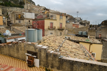 Mountain town - Caltabellotta  Sicily, Italy   Stock Photo - 21718009