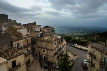 Mountain town - Caltabellotta  Sicily, Italy Stock Photo - 21718011